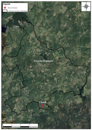 Localisation site par rapport à la commune
